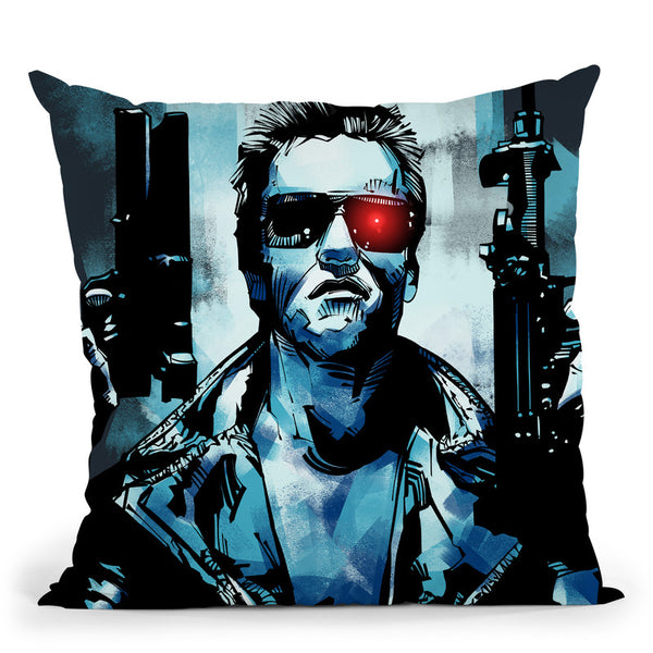 Terminator Iii Throw Pillow By Nikita Abakumov
