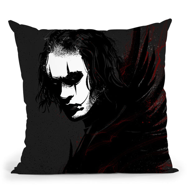 The Crow Brandon Throw Pillow By Nikita Abakumov