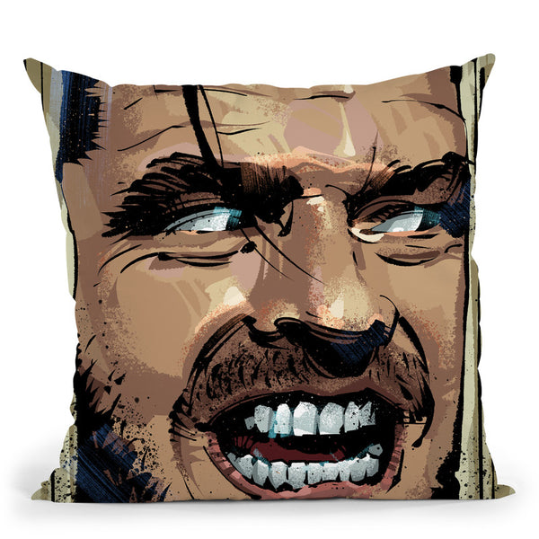 Theining Jack Throw Pillow By Nikita Abakumov