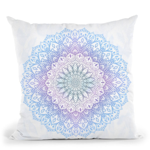 Mandala For May Multicolor Throw Pillow By Nika Martines