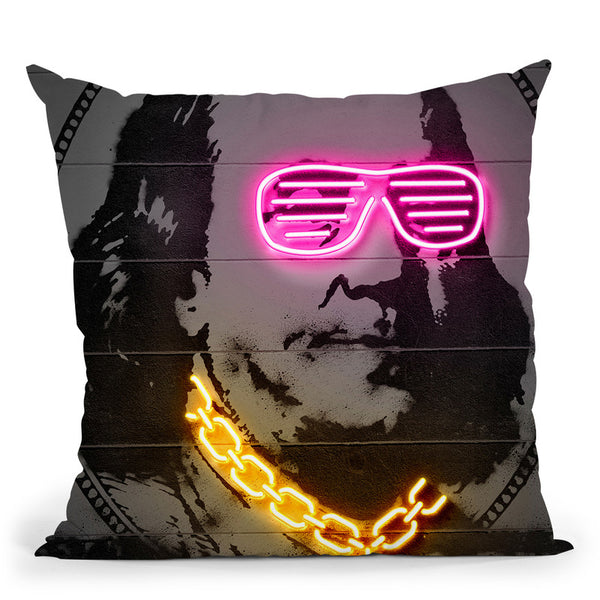 Franklin Throw Pillow By Octavian Mielu