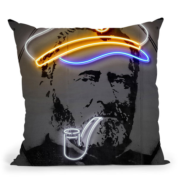 Grant Throw Pillow By Octavian Mielu