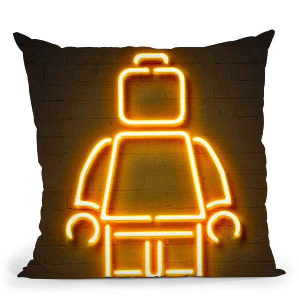 Lego Throw Pillow By Octavian Mielu