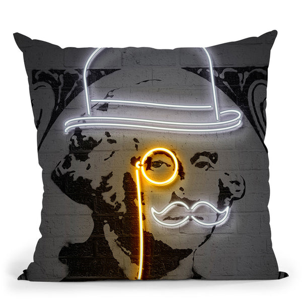 Washington Throw Pillow By Octavian Mielu