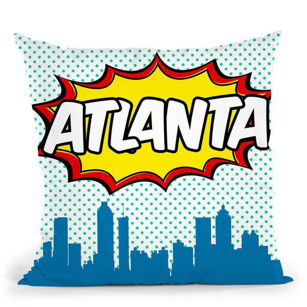 Atlanta Throw Pillow By Octavian Mielu