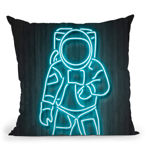 Astronaut Octavian Throw Pillow By Octavian Mielu