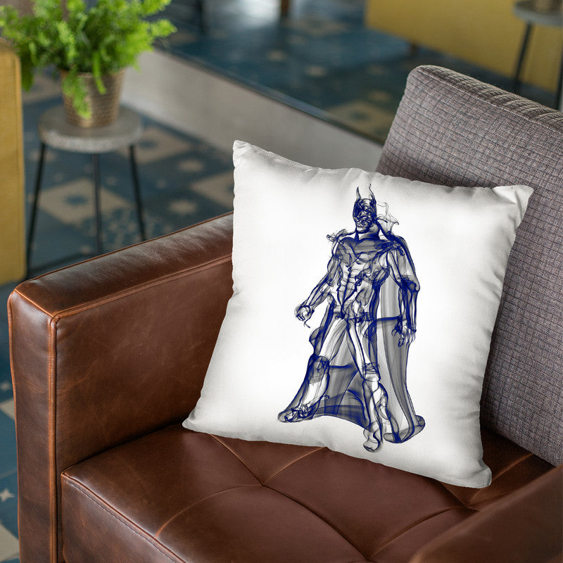 Batman Throw Pillow By Octavian Mielu