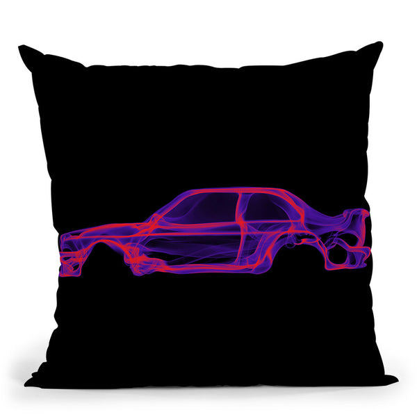 Bmw M3 E30D Throw Pillow By Octavian Mielu
