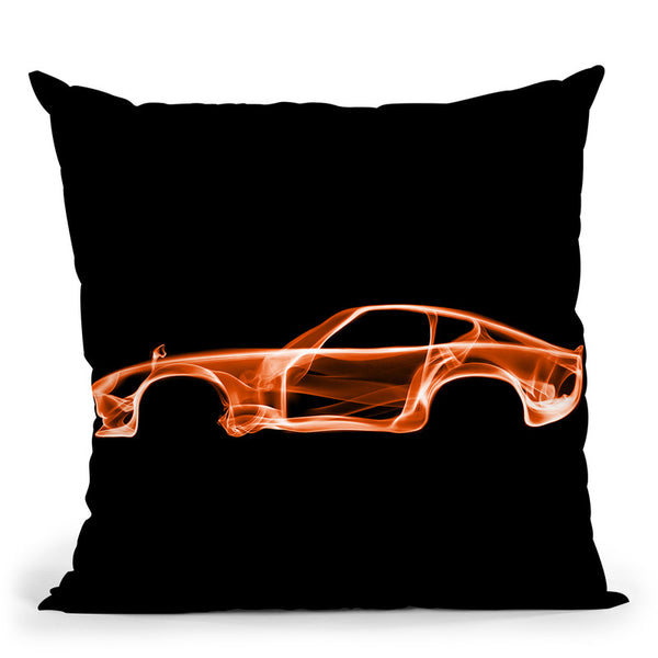 Datsun 240Zd Throw Pillow By Octavian Mielu
