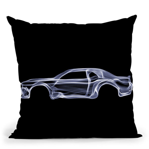 Dodge Challengerd Throw Pillow By Octavian Mielu