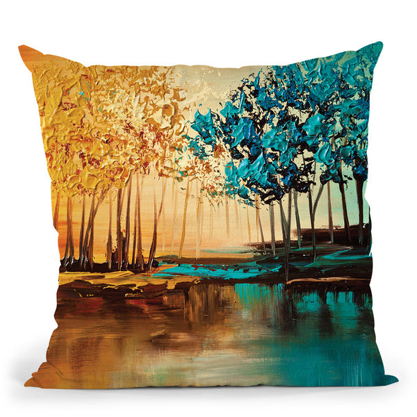 Eden Throw Pillow By Osnat Tzadok