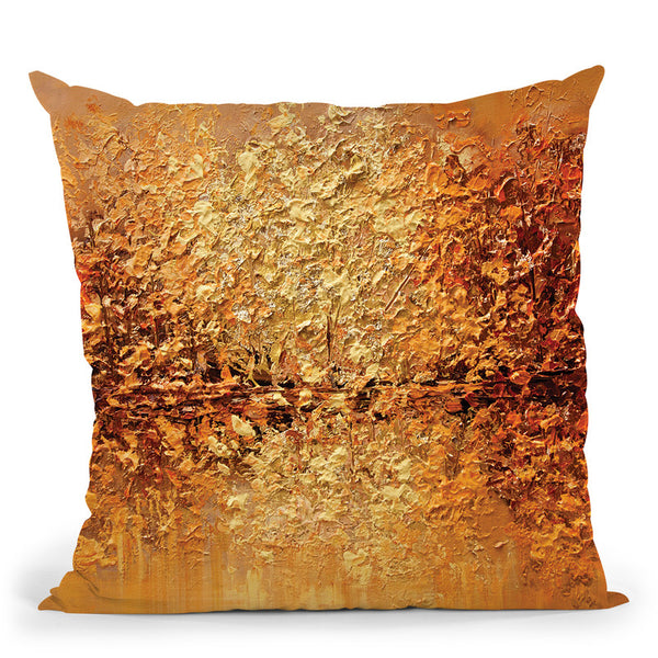 Orange County Throw Pillow By Osnat Tzadok