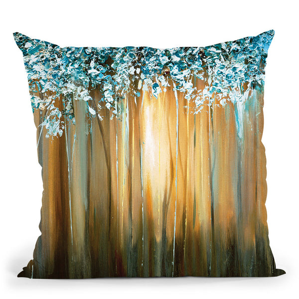 Paradise Throw Pillow By Osnat Tzadok