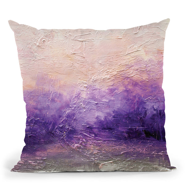 Serenity Throw Pillow By Osnat Tzadok