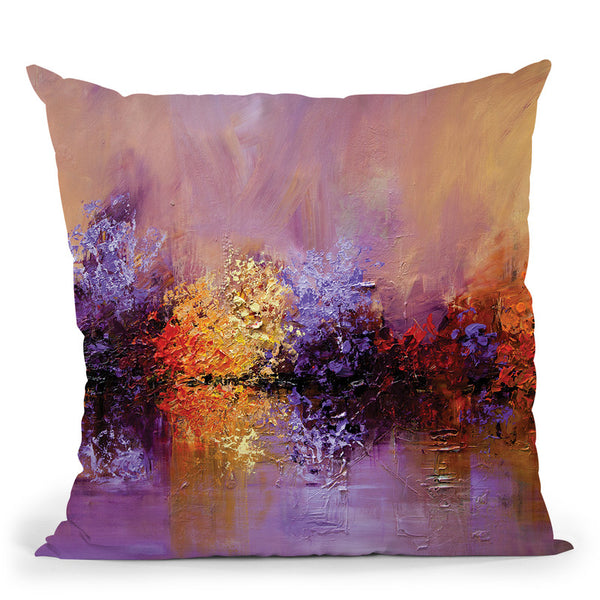 Spring Time Throw Pillow By Osnat Tzadok