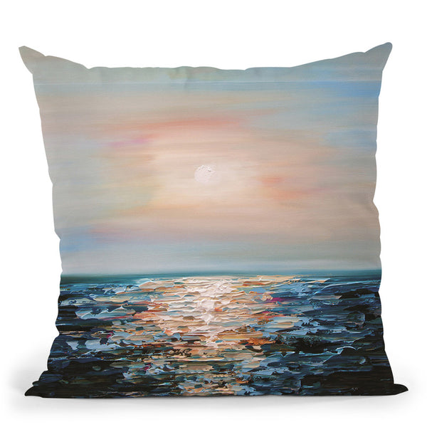 The Forgotten Sunrise Throw Pillow By Osnat Tzadok
