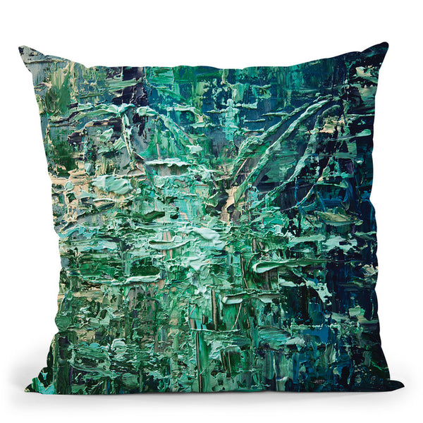 The Muse Throw Pillow By Osnat Tzadok