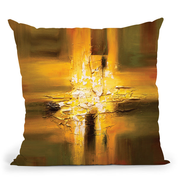 The Secret Throw Pillow By Osnat Tzadok