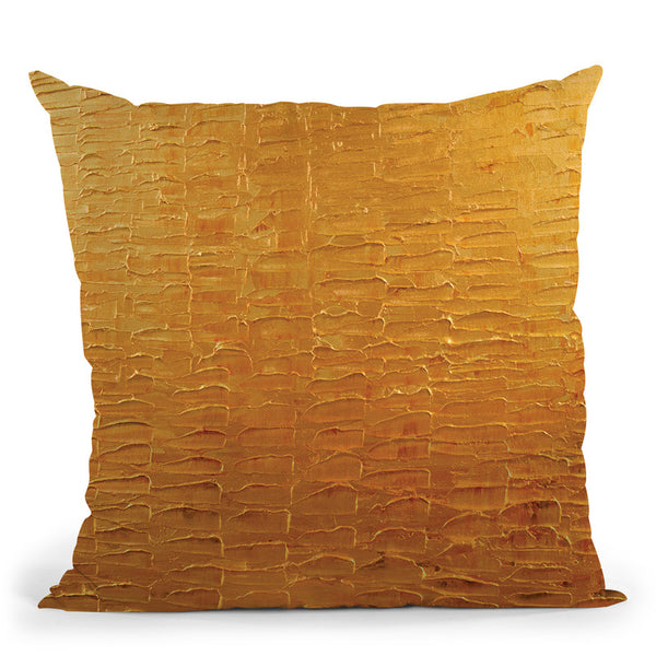 The Treasure Throw Pillow By Osnat Tzadok