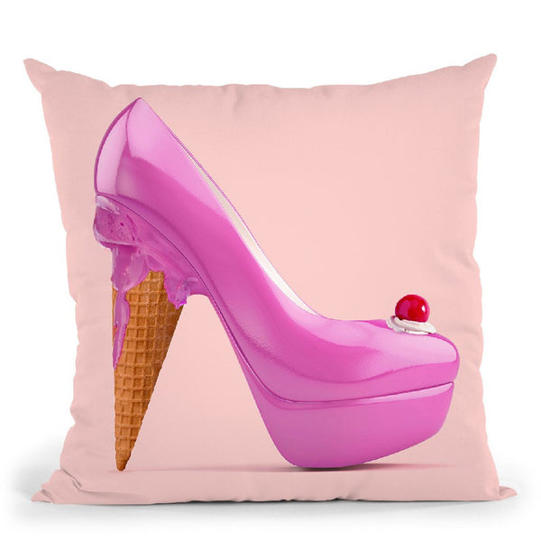Ice Heal Throw Pillow By Paul Fuentes