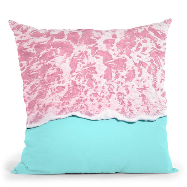 Pink Ocean Throw Pillow By Paul Fuentes