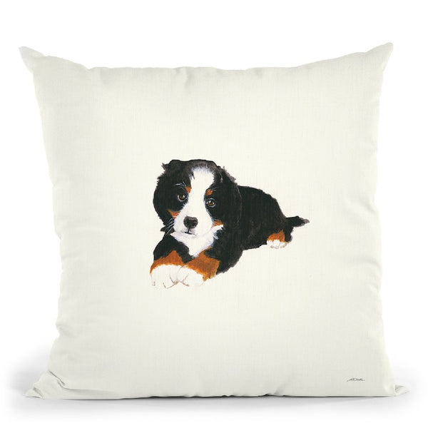 Gertie I Throw Pillow By Patsy Ducklow