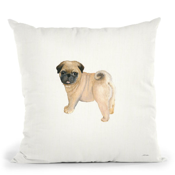 Cutie Ii Throw Pillow By Patsy Ducklow