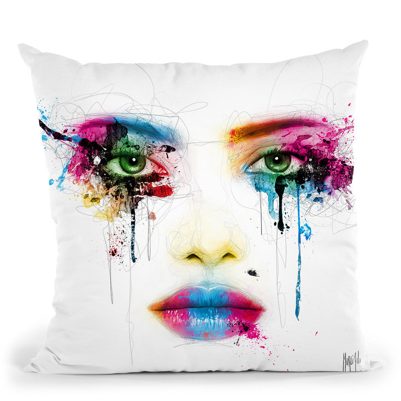 Colors Throw Pillow By Patrice Murciano