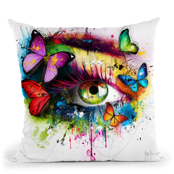 Le Miroir De L'Ame Throw Pillow By Patrice Murciano
