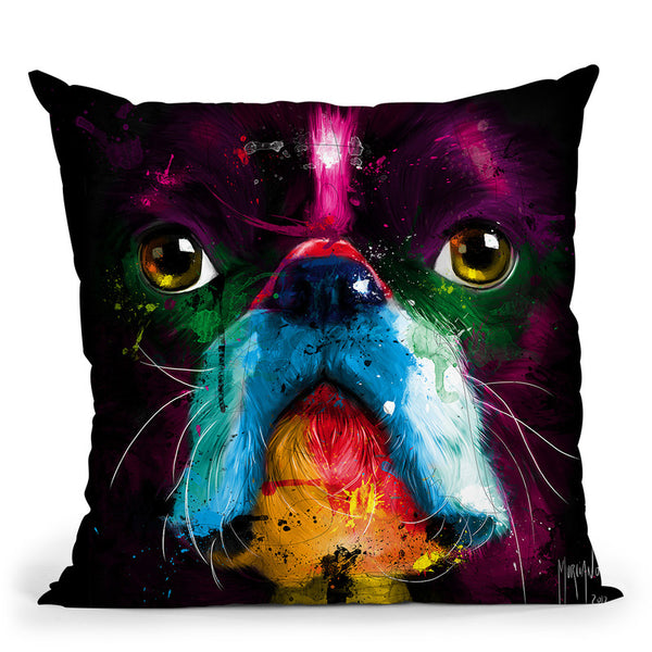 Boston Throw Pillow By Patrice Murciano
