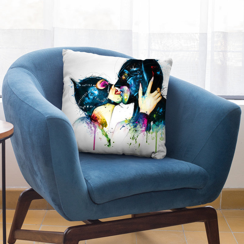Love In Gotham Throw Pillow By Patrice Murciano