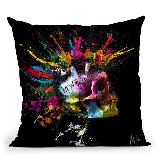 New Future Throw Pillow By Patrice Murciano
