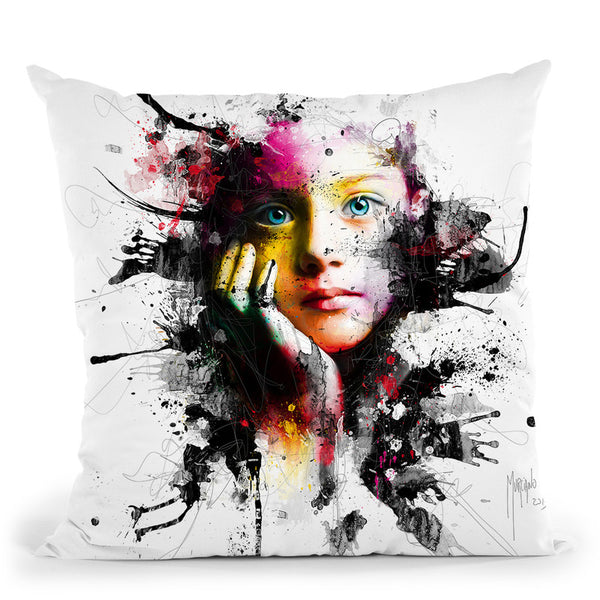 No War For Our Children Throw Pillow By Patrice Murciano