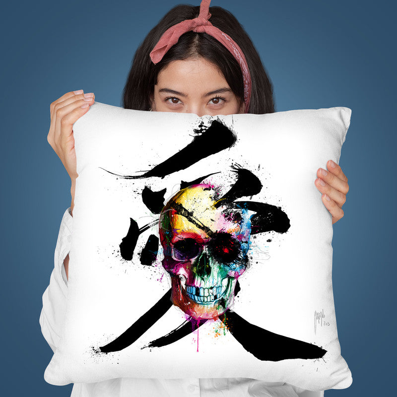 Pirate Throw Pillow By Patrice Murciano