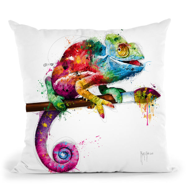 Pop Evolution Throw Pillow By Patrice Murciano