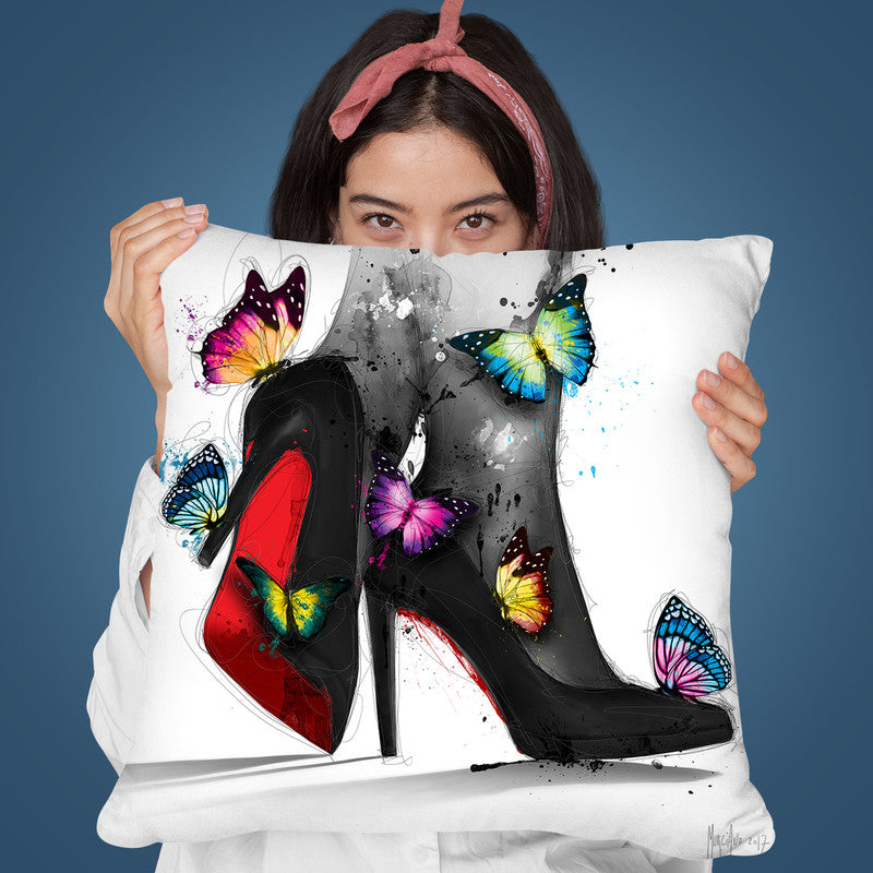 Pour Elle Throw Pillow By Patrice Murciano