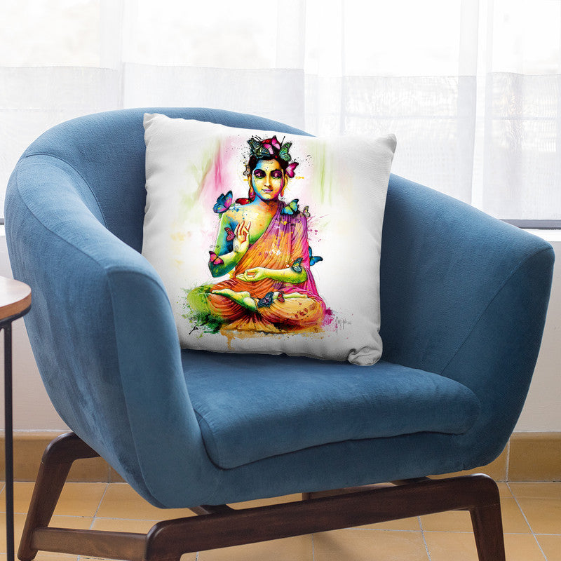 Siddharta Throw Pillow By Patrice Murciano