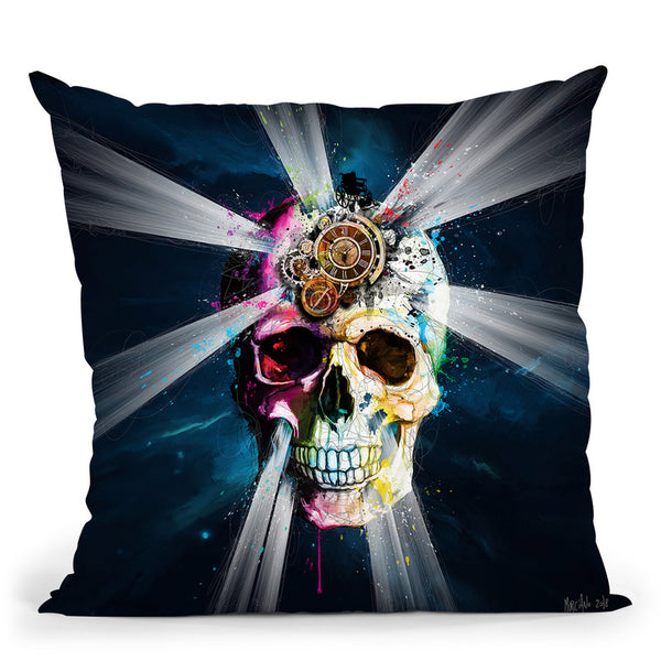 Une Breve Histoire Du Temps Throw Pillow By Patrice Murciano