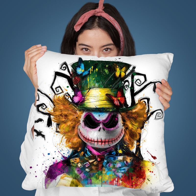 Wonderland Throw Pillow By Patrice Murciano