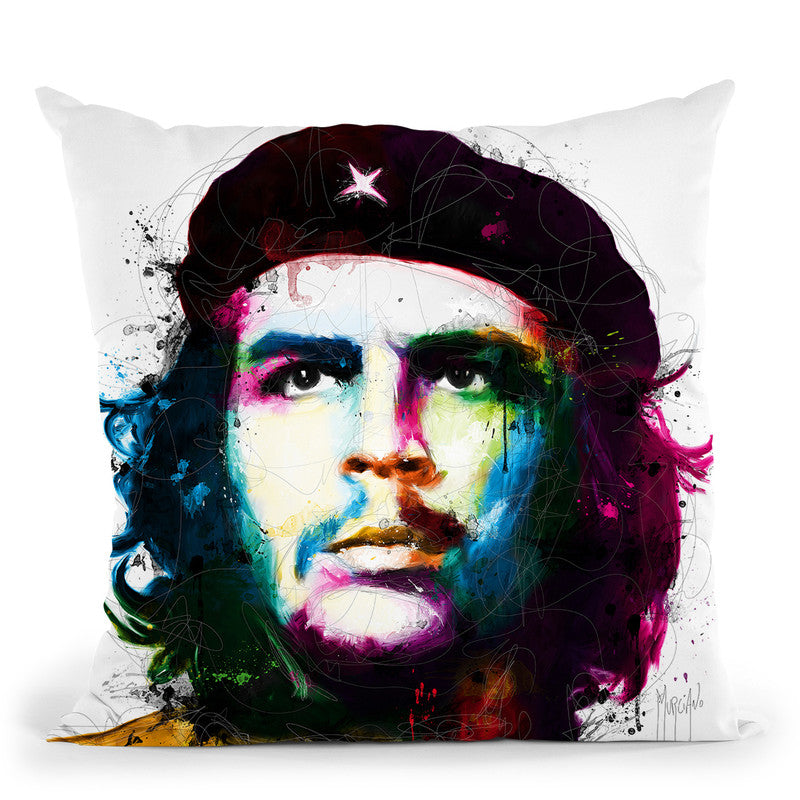 Che Guevara Throw Pillow By Patrice Murciano