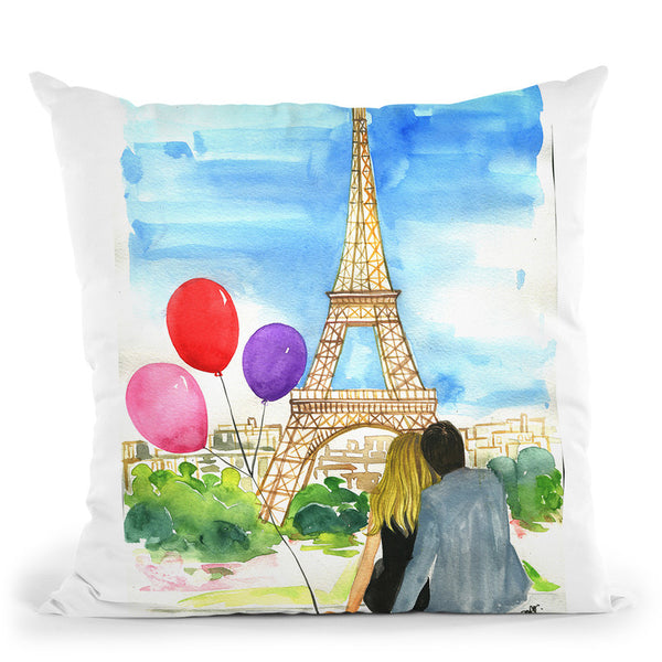 Valentine'S Day 2018 Throw Pillow By Rongrong