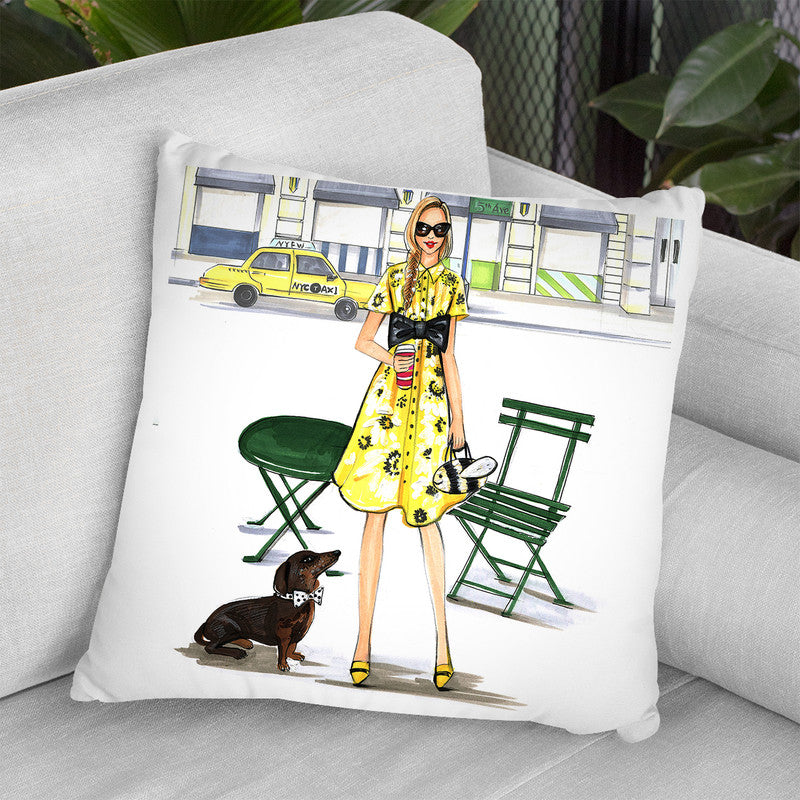 Kate Spade Kinda Day Throw Pillow By Rongrong