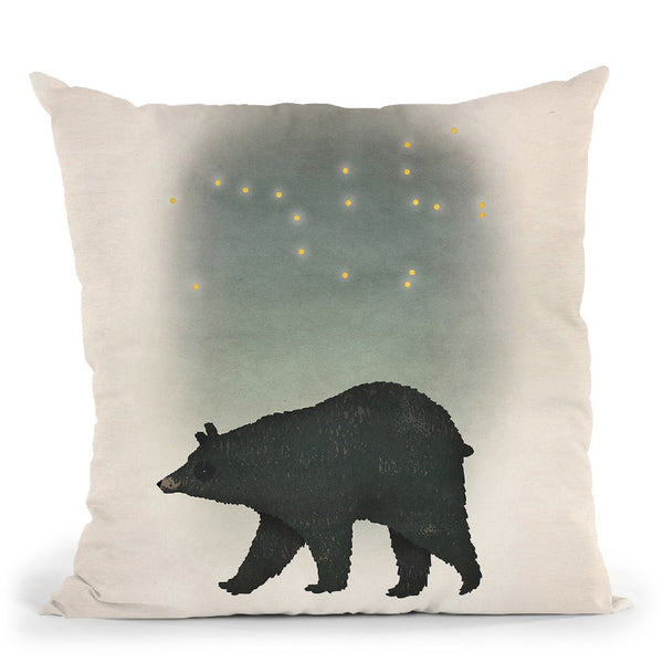 Ursa Major Throw Pillow By Ryan Fowler