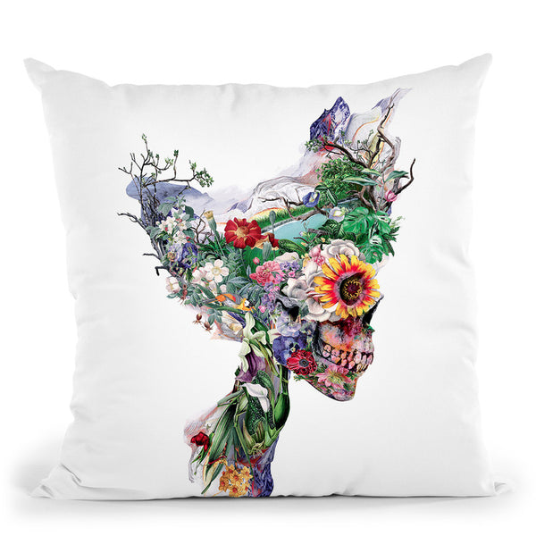 Don'T Kill The Nature Throw Pillow By Riza Peker