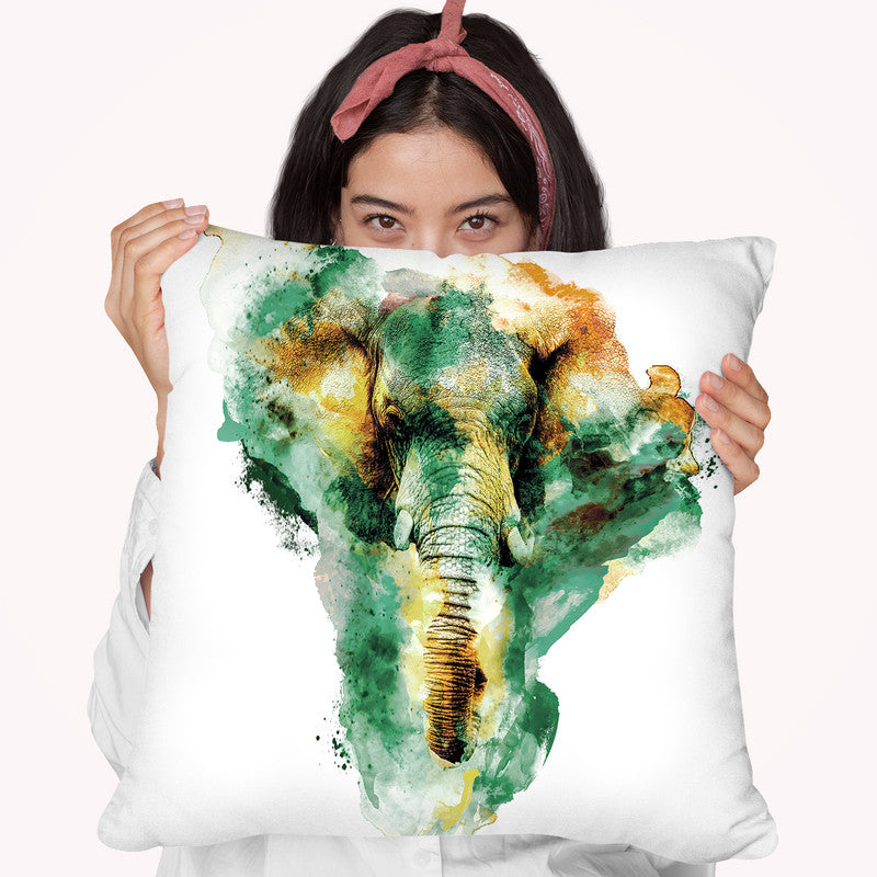 Wild Africa Throw Pillow By Riza Peker