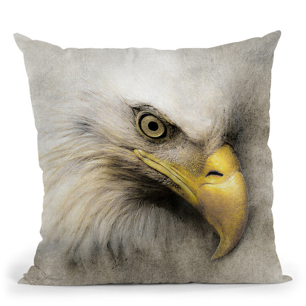 Eagle Throw Pillow By Riza Peker