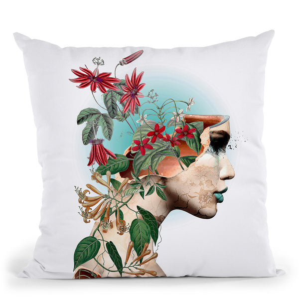 Beauty Of Life Throw Pillow By Riza Peker
