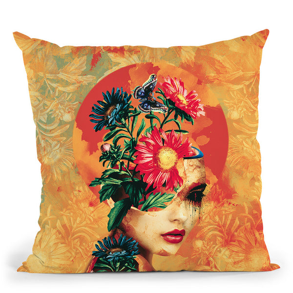 Broken Ii Throw Pillow By Riza Peker