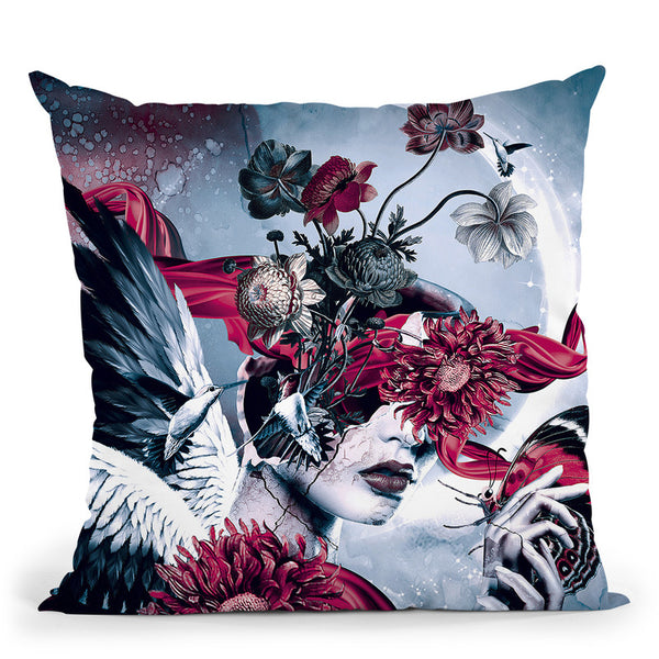 Broken Iii Throw Pillow By Riza Peker