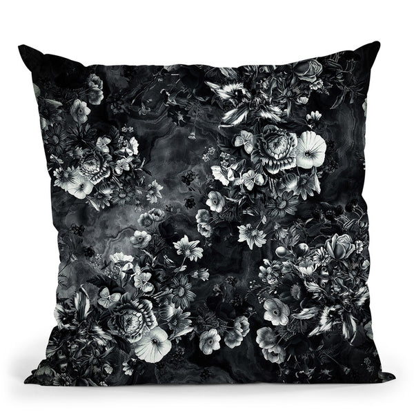 Darkness Iii Throw Pillow By Riza Peker